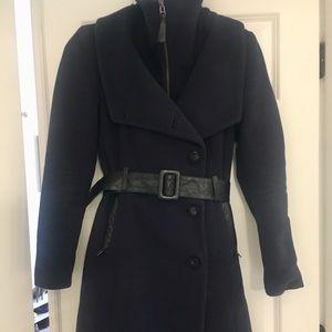 *GENUINE* Mackage wool & leather jacket!